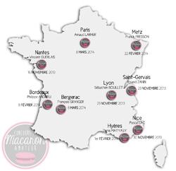 Carte 2013/14 Concours Macaron Amateur France